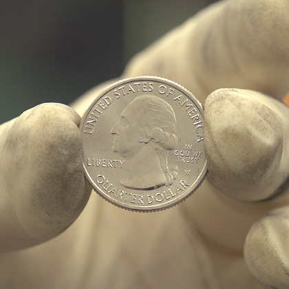 2019: First Ever W Quarter coins for US circulation coinages