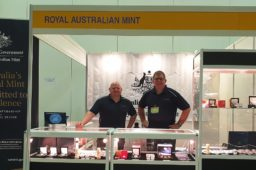 Impressions of Royal Australian Mint on 2019 Singapore coin fair