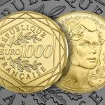 250 & 1000 euros Or - La monnaie de paris présente sa dernière série de la collection Marianne 2019