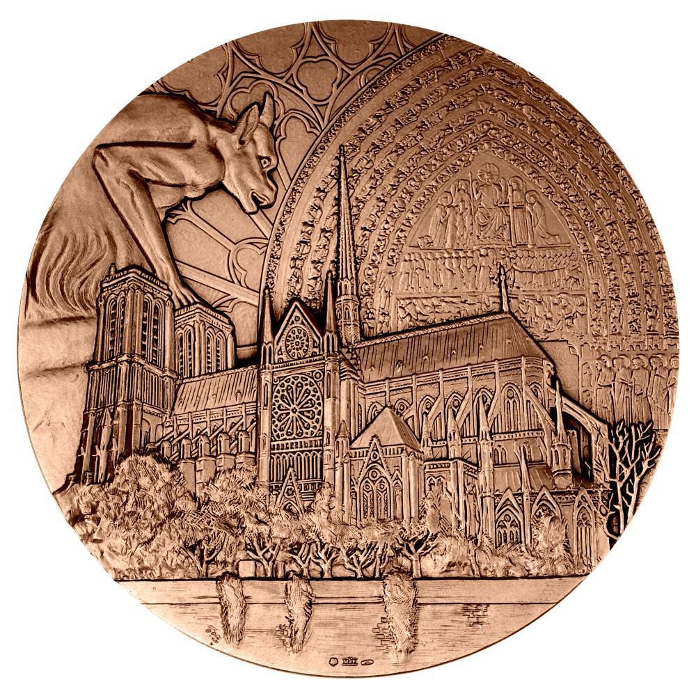 médaille au profit de Notre-Dame de Paris