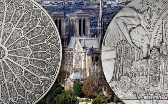 La Monnaie de Paris va rééditer une médaille au profit de Notre-Dame de Paris
