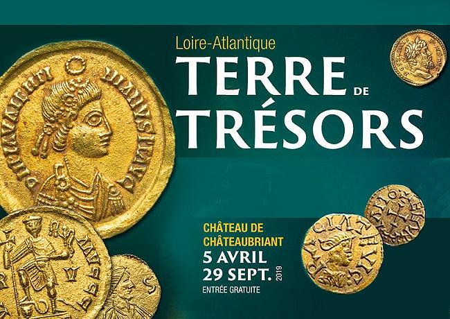 Exposition LOIRE ATLANTIQUE TERRE DE TRESORS – collections Musée DOBREE