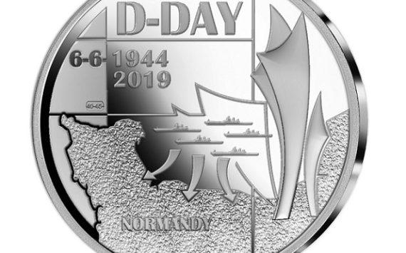 5€ 2019 Monnaie Royale de Belgique – Débarquement du 6 juin 1944
