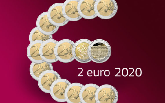 Commemorative 2 euro coins 2020