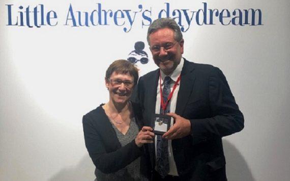 Pièce commémorative belge 2019- 25 euros dédiée à Audrey HEPBURN