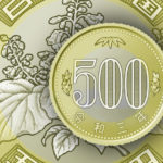Japan 500 yen coin 2021 - Circulation bimetallic type
