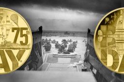 Le D-day, 75ème anniversairedu débarquement du6 juin 1944 – Monnaie de Paris 2019