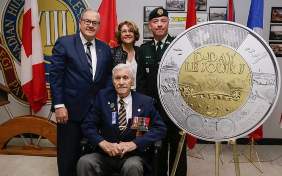 "CANADA – 2019 commemorative coin ""D DAY"" – june 6th 1944"