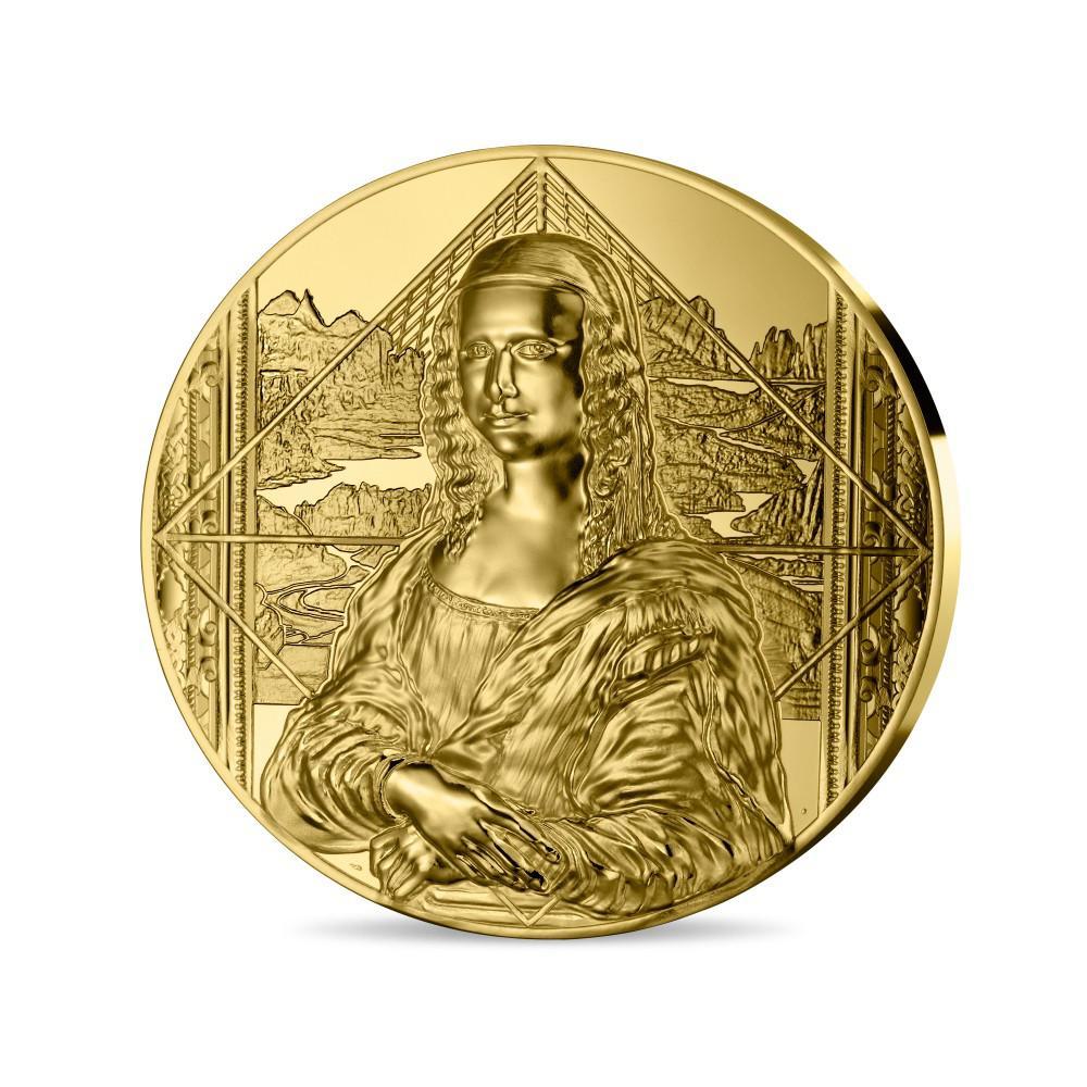 LA JOCONDE MONNAIE DE 1 KG OR - monnaie de paris 2019