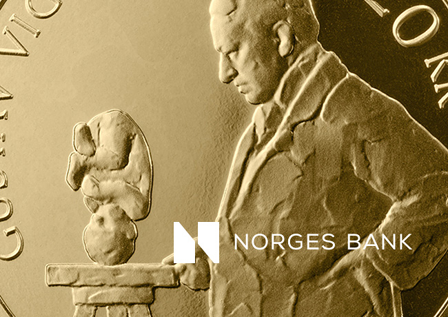 Norway 20 krone 2019 – Gustav Vigeland