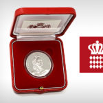 2019 MONACO €10 silver coin Princess GRACE