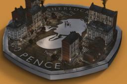50 pence Sherlock HOLMES struck by Royal Mint