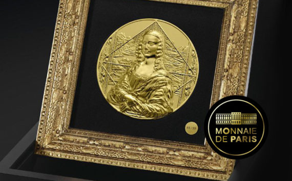 Une monnaie d'exception d'un kilo d'or – La Joconde monnaie de Paris 2019