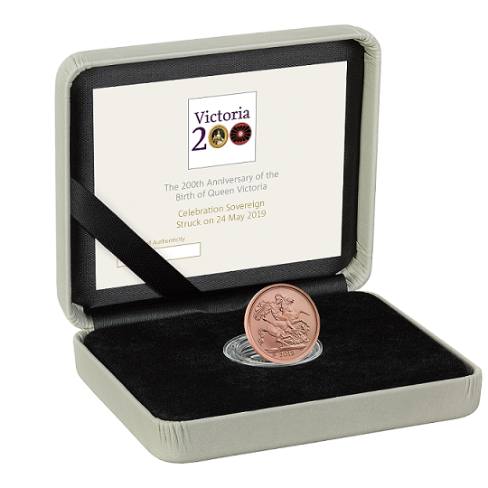 Royal Mint in 2019: A Sovereign for the Queen!