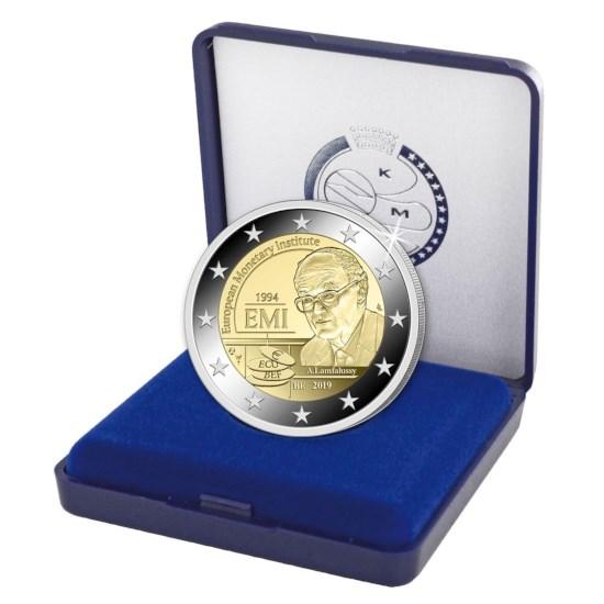 Présentation officielle de la 2€ belge 2019 - 25 ans de l'IME