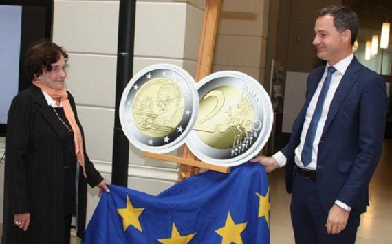 Présentation officielle de la 2€ belge 2019 – 25 ans de l'IME