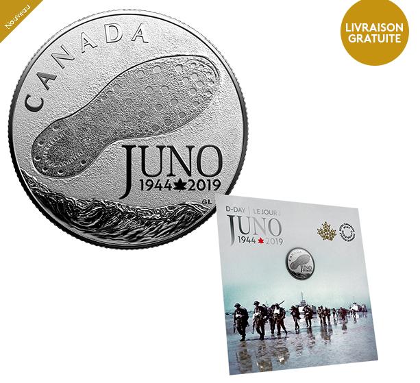 "CANADA 2019 - 2019 commemorative coin ""D DAY"" - june 6th 1944"