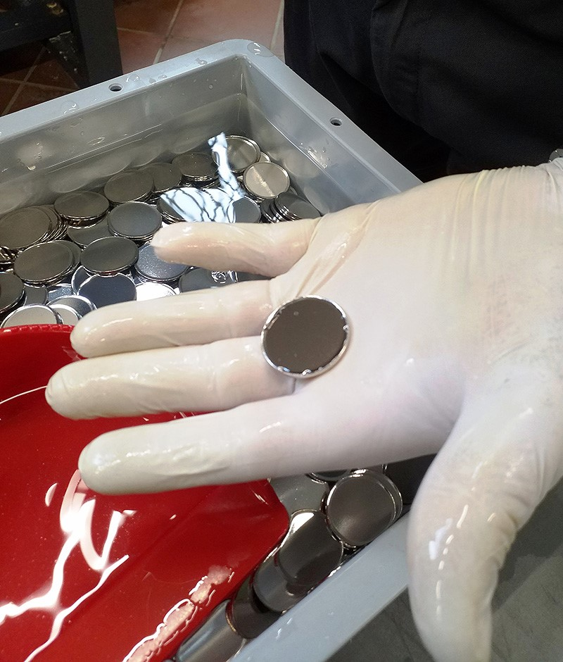 NUMISMAG visits the swiss Mint facility, in BERNE