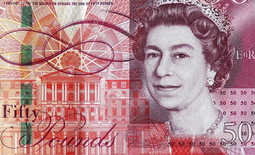 Le Nouveau Billet Britannique De 50 Livres Sterling La