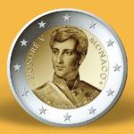 2 euro 200e anniversaire de l'accession au trône du prince Honoré V - Monaco 2019 - Pièce monaco 2019 - 2 euro monaco 2019
