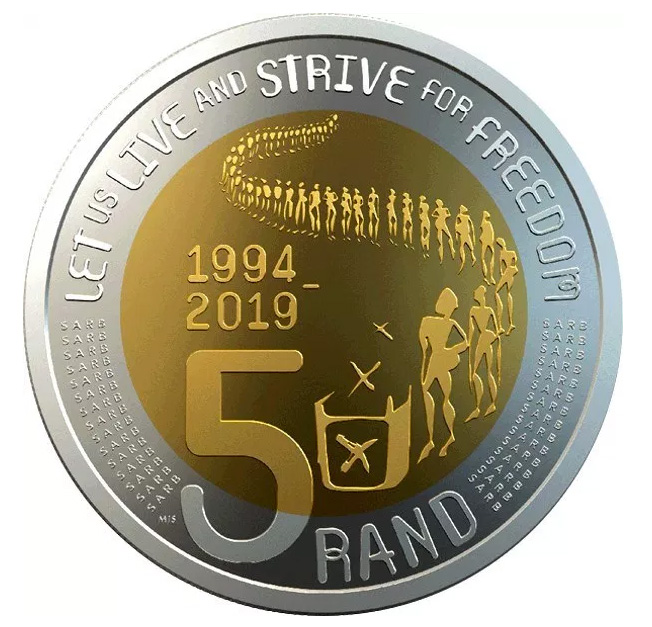 6 new 2019 commemorative rands coins in circulation - South Africa