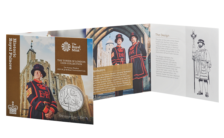 2019 Yeoman coins by Royal Mint