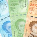 Venezuela - émission de 3 nouvelles grosses coupures de 10 000, 20 000 et 50 000 bolivars