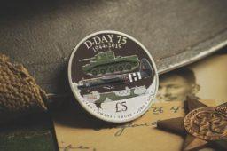 Toutes les pièces de Monnaie célébrant le JOUR J – 6 juin 1944 – célébration 2019 D-Day