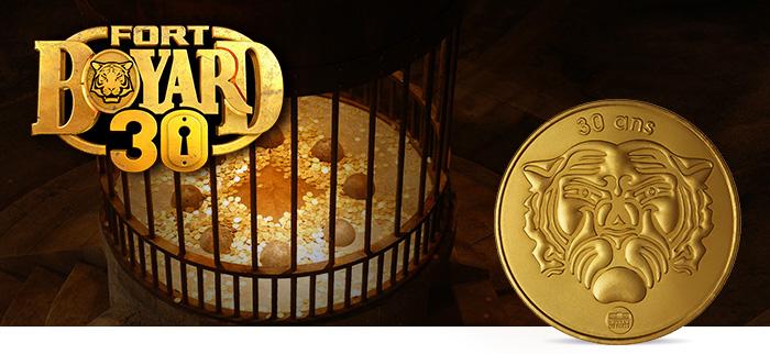les 30 ans du Fort Boyard, la Monnaie de Paris propose une mini médaille