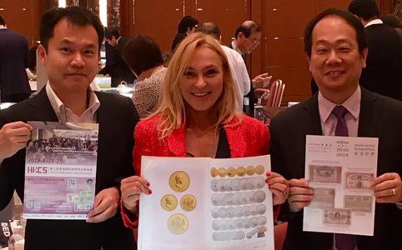 MURIEL EYMERY, une franco-américaine candidate pour rejoindre le Directoire de l'American Numismatic Association (ANA) ?
