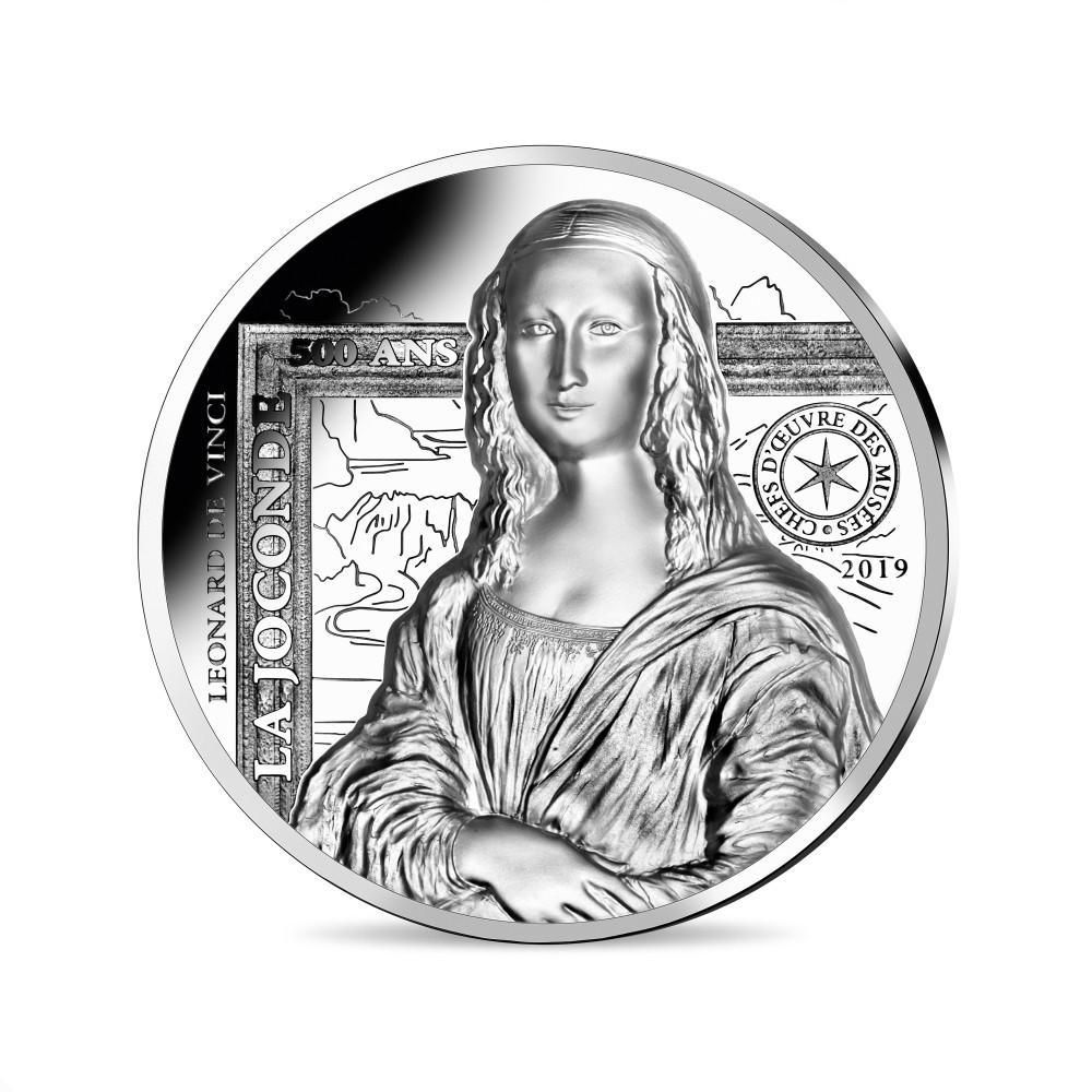 Comment frappe-t-on une monnaie en haut relief ? - Monnaie de 20 € La Joconde en argent999 ‰ BE - Haut-relief - Pièce Haut-relief