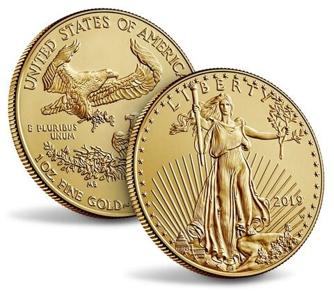 2019 UNC USD 50 - SAINT GAUDENS Gold Eagle