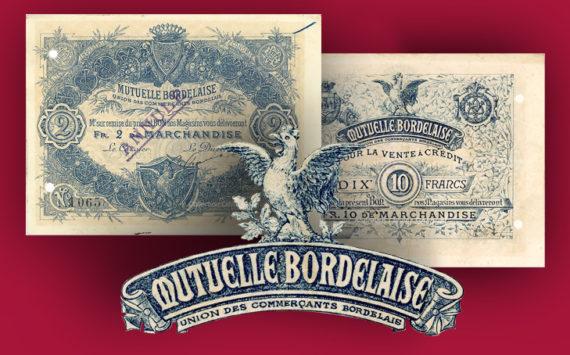 Aquitaine – Les bons de la Mutuelle Bordelaise, Union commerciale de Bordeaux – Catalogue et cotation