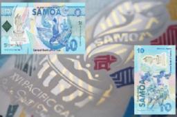 Billet commémoratif 10 Talas 2019 des SAOMA – XVIeme Jeux du Pacifique