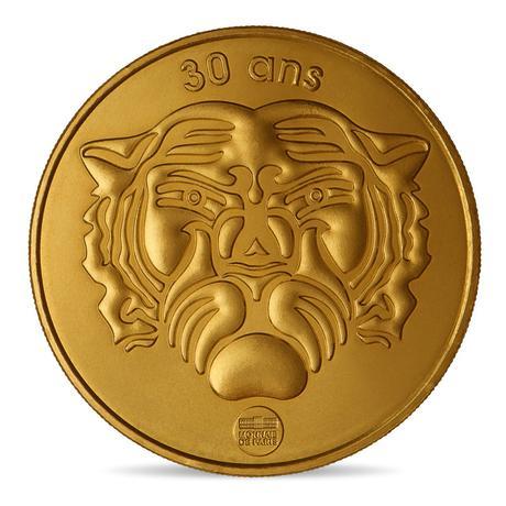 Mini médaille Fort Boyard - les 30 ans du programme TV - Monnaie de Paris 2019