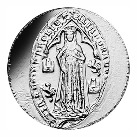 10 euros Argent - Aliénor d'Aquitaine- vague 2