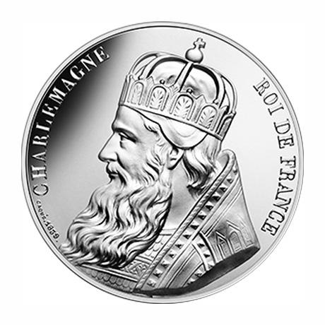 10 euros Argent - Charlemagne - vague 2 - Pièce d'histoire Stephane Bern