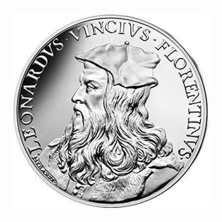 10 euros Argent - Leonard de Vinci & François Ier - vague 2
