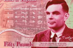 BoE unveiled new £50 pounds banknote – Alan TURING