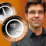 ANDRE WITTING, designer des pièces allemandes de 10 € commémoratives avec anneau polymère