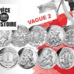 Pièce d'histoire avec Stéphane Bern - vague 2- Monnaie de Paris 2019