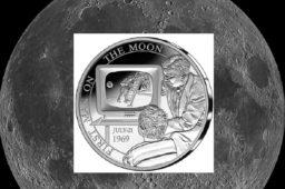 5€ argent BE – Belgique 2019 – «50 ans premier homme sur la lune»