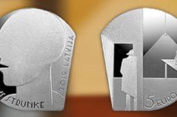 "Latvia 2019 €5 ""Niklāvs Strunke"" silver coin"