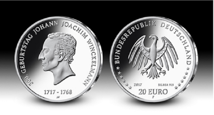 ANDRE WITTING coin designer of german €10 polymer coin series