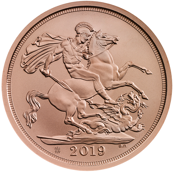 2019 200th anniversary of the birth of Prince Albert gold sovereign coin