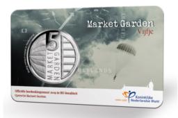 10€ et 5€ 2019 des Pays-Bas commémorant le 75e anniversaire de Market Garden