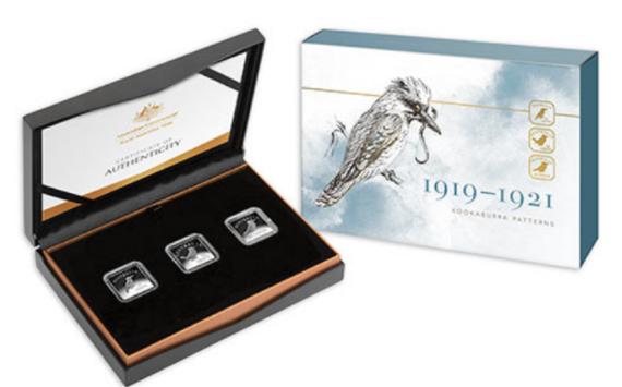 2019 australian commemorative coinset – 25c Kookaburra