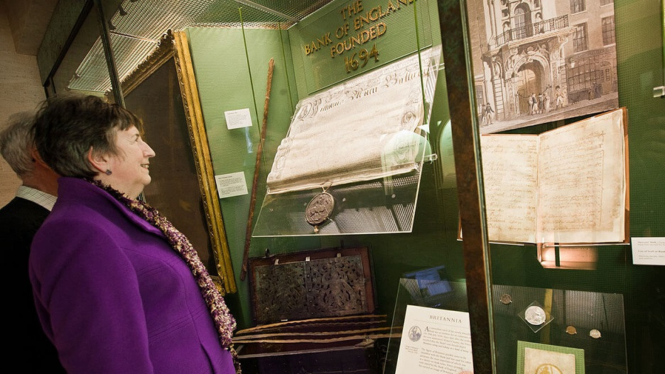 Numismatic exhibition in UK: 325th anniversary of Bank of England