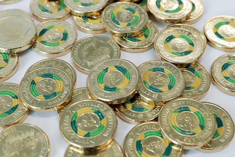 "2019 australian limited edition Wallabies coin: ""Wallabies' Road to Japan"""