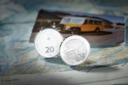 2019 20 francs Swiss silver commemorative coin – FURKA PASS